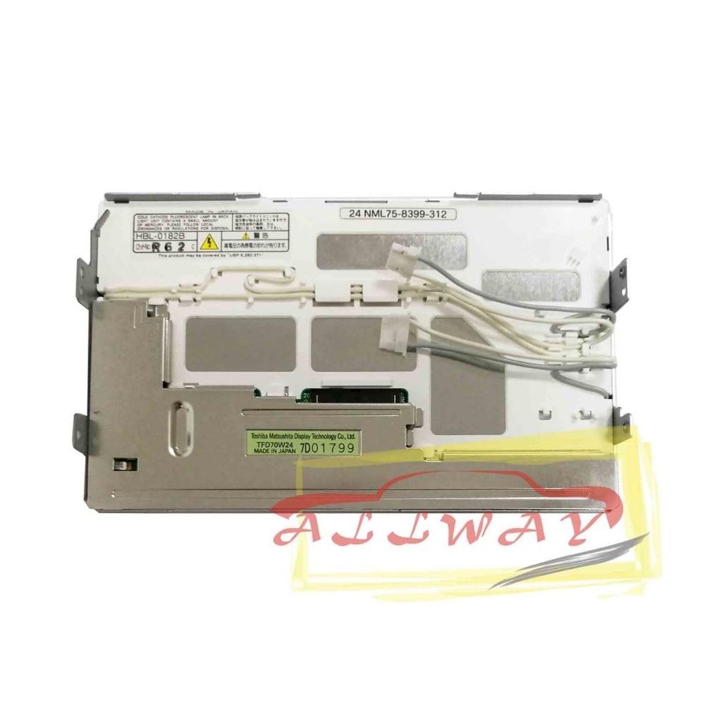 Toshiba 7/' navi display TFD70W24 for Toyota headunit 86111-60100 without panel