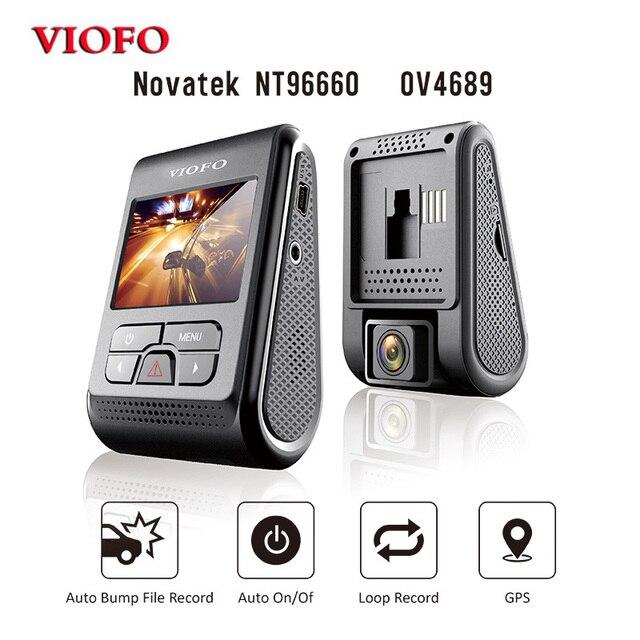 "Viofo Originele Upgrated A119 V2 2.0 ""Lcd Condensator Novatek 96660 Hd 2K 1440P Auto Dash Video Recorder dvr Optioneel Gps Cpl Filter"