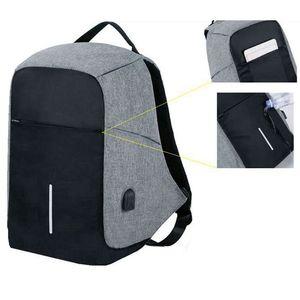 Image 3 - Men Anti theft Backpack USB Charging 15.6 Laptop Backpack Multifunction Waterproof Travel Bagpack women High Quality School bag