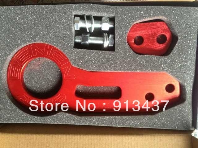 BENEN-0185 rear Tow Hook Set(red,blue,golden,purple) universal