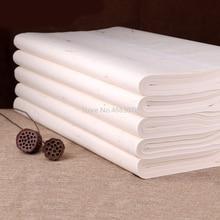 100 листов, традиционная бумага Xuan, Китайская рисовая бумага для рисования, каллиграфия, принадлежности