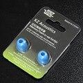 KZ consejos Para Auriculares Almohadillas de Esponja para Auriculares de Espuma de Memoria en Puntas de Las Orejas para ED9 ZST Xiaomi Pistón Auriculares Auriculares Del Oído accesorios