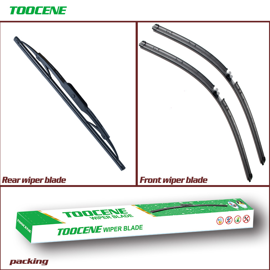 Front And Rear Wiper Blades For  VW Touareg 2003-2006 Windshield wiper Windscreen Car Accessories