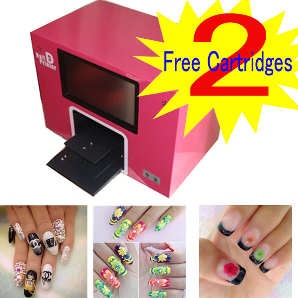 New Upgraded Ce Computer Build Inside Nail Printer Multifunction Digital Machine 5 Nails Printing