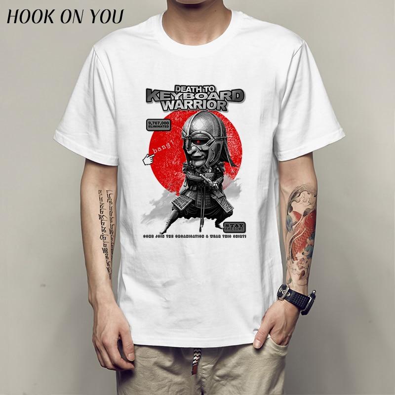 death to KEYBOARD WARRIOR T Shirt Male Fashion Keyboard Man Cool Harajuku Vintage Original Tshirt