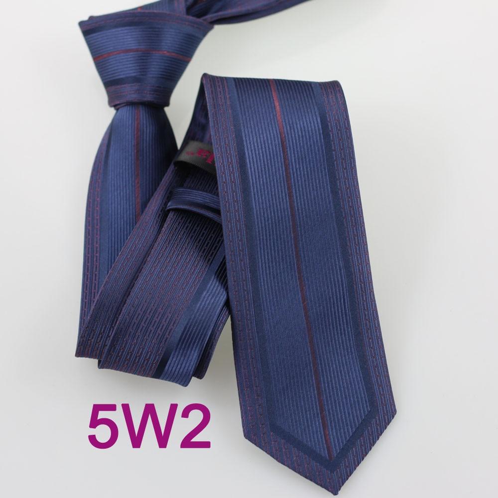 Yibei Coachella Галстуки темно-галстук блестящие граничит с бордовой в Вертикальную Полоску Для мужчин шеи Галстуки узкий corbatas Hombre жаккардовые