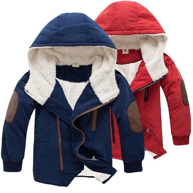 3-11Yrs для маленьких мальчиков & Обувь для девочек хлопковая зимняя модная куртка и верхняя одежда, детская Корейская куртка на подкладке из хлопка, Обувь для мальчиков меха зимнее теплое пальто