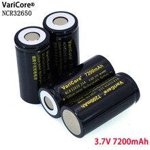 VariCore 3.7 V 32650 7200 mAh Li ion Recarregável Bateria 20A 25A 32A bateria de Alta potência Máxima de Descarga Contínua