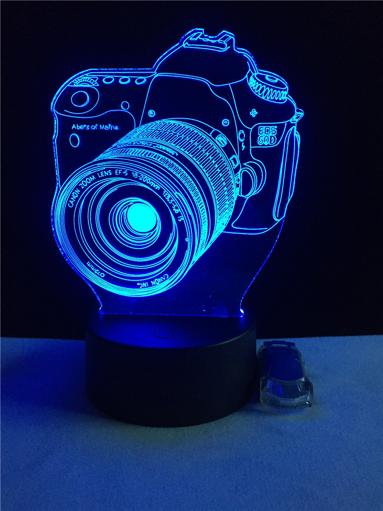 Luzes da Noite de mesa de presente Lâmpadas Incluídas : Sim
