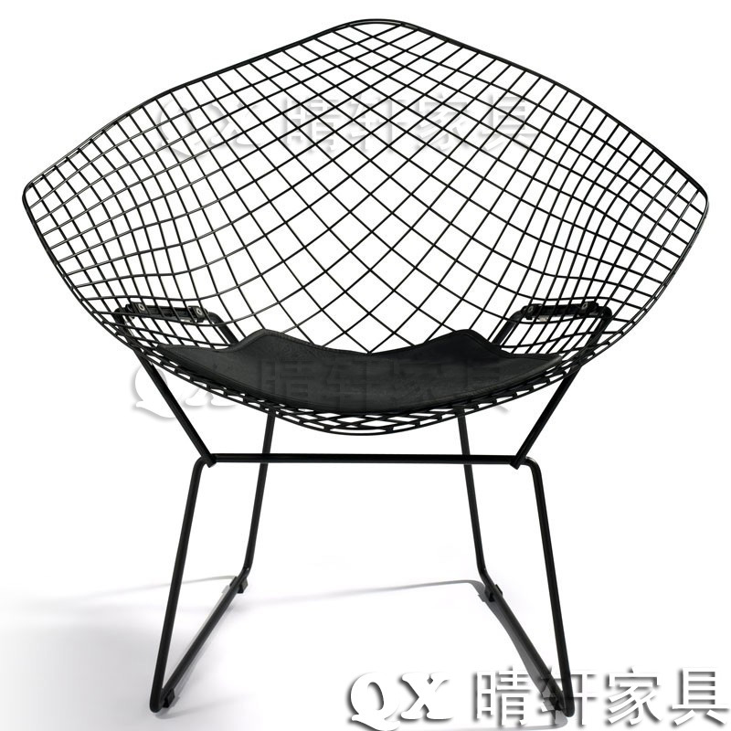 British Industrial Retro Diamond Wire Mesh Chair Leisure Chair Plated  Stainless Steel Coffee Metal Chairs Outdoor Negotiations In Shampoo Chairs  From ...