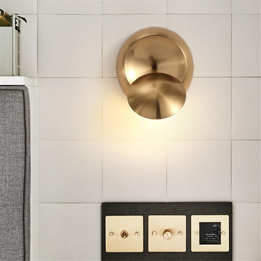 Licht & Beleuchtung Ehrlichkeit Thrisdar Nordic Kreative Acryl Eisen Led Wand Lampe 350 Grad Rotation Einstellbar Treppen Aisle Schlafzimmer Nacht FÜhrte Wand Licht