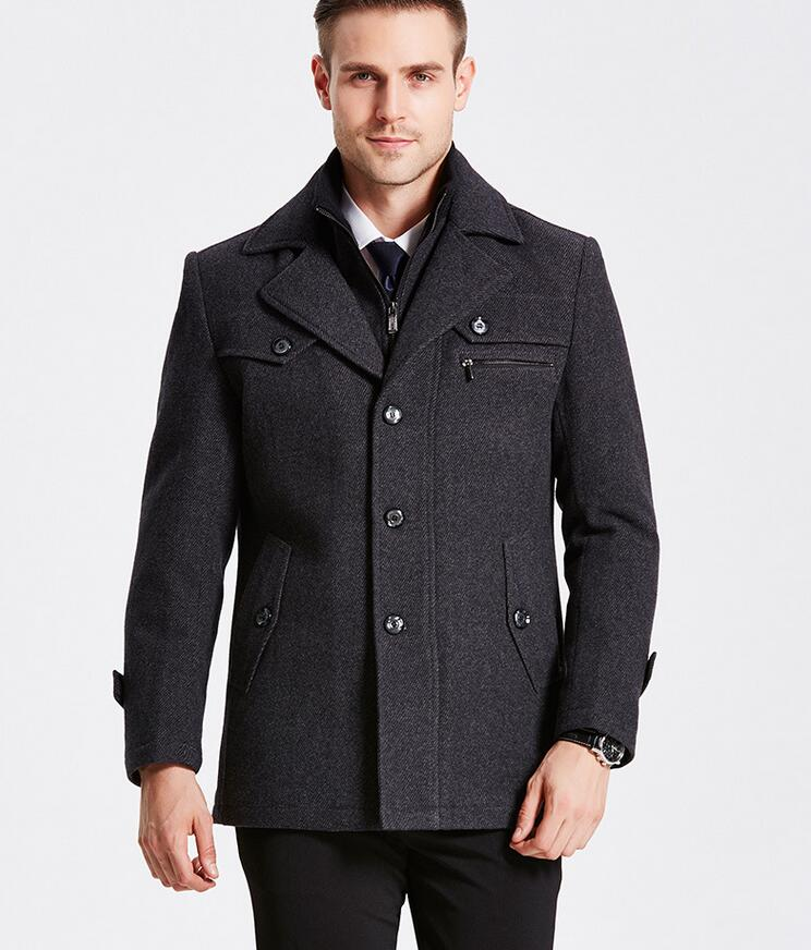 Compare Prices on Slim Fit Pea Coat Men- Online Shopping/Buy Low ...