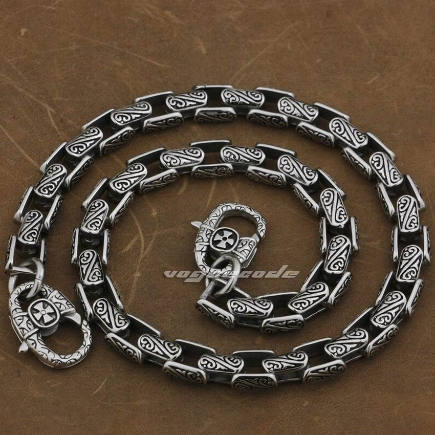 14 36 316L Stainless Steel Mens Biker Rocker Punk Wallet Chain 5A020WC 3P6