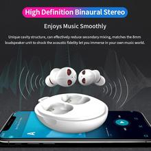Yiwa Alien-Shaped Wireless Earpods Bluetooth Headphones 5.0 Earbuds Noise Cancel