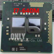 Processor HM55 Core i7-640m PGA988 HM57 Compatible Laptop Cpu TDP 4M QM57 SLBTN Cache