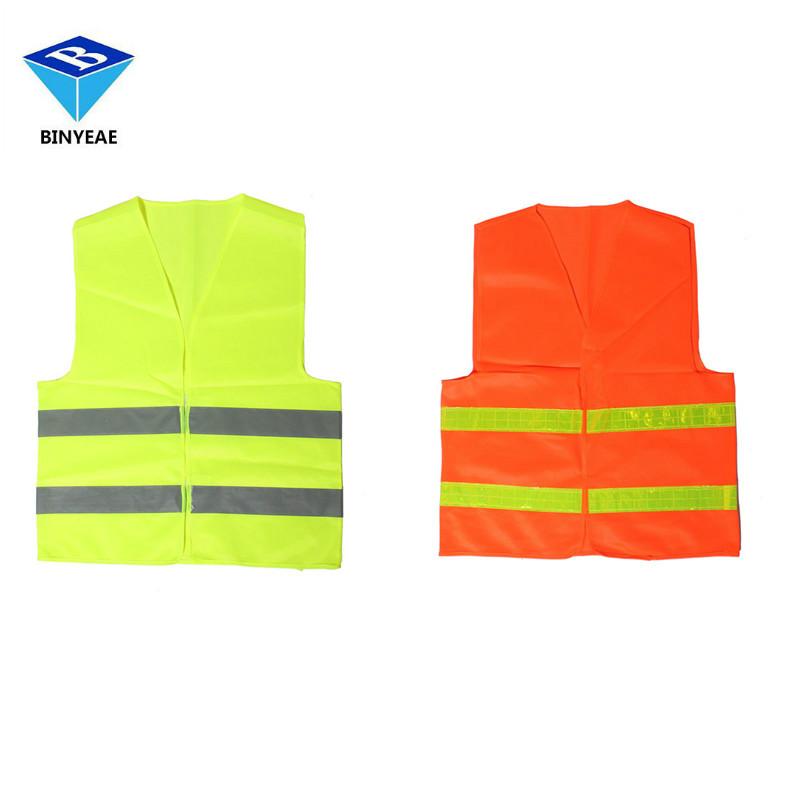 BINYEAE High Visibility Reflective font b Safety b font Vests Environmental Sanitation Coat Men s font