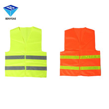 BINYEAE High Visibility Reflective Safety Vests Environmental Sanitation Coat Men's Clothing Of The Working