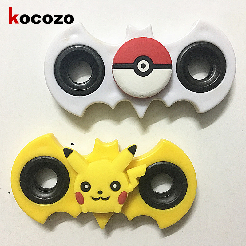 Cartoon Bearing Hand Spinner Pikachu Doraemon Fidget Spinners 2017 Newest Gyro Finger Toys For Children Autism