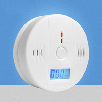 85dB Warning High Sensitive LCD Photoelectric Independent CO Gas Sensor Carbon Monoxide Poisoning Alarm Detector For