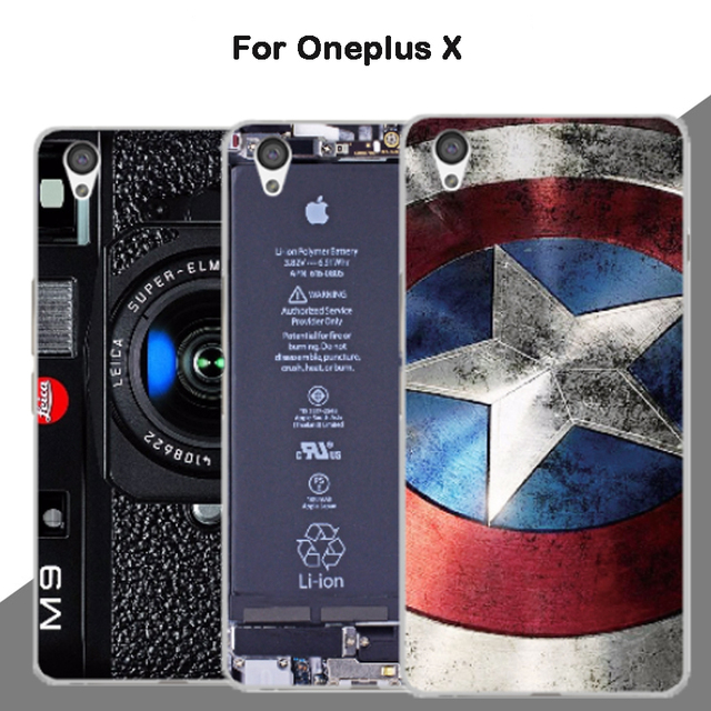detailed look 39edd 0ca5c 2018 new fashion For Oneplus X case, 3D cartoon custom made painted back  cover case for oneplus X E1001 Customized 5.0inch-in Phone Bumper from ...