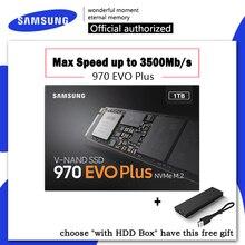 SSD SAMSUNG 970 EVO Plus M.2 SSD M2 SSD жесткий диск HD SSD 1 ТБ 500 GB твердотельный жесткий диск 250G HDD NVMe PCIe для ноутбука