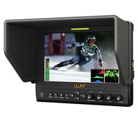 Lilliput 663/P2,7 inch 16:9 LED Field Monitor With HDMI, YPbPr (via BNC), Collapsible Sun Hood. Optimised For DSLR Cameras
