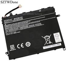 SZTWDone Neue BAT 1011 Tablet batterie für ACER Iconia Tab A510 A700 A701 1ICP5/80/120 2 BT0020G003 3,7 V 9800MAH 36WH