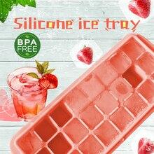 Силиконовый Лоток Для Льда 24 Сетки для приготовления льда лоток для напитков кубик для шоколада фруктовая Форма Контейнер для хранения еды Бар Кухня