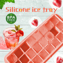 Silicone Ice Tray 24 Grids Ice Cube Maker  Drink Tray Cube Chocolate Fruit Mold Storage Container Food Grade Bar Kitchen недорого