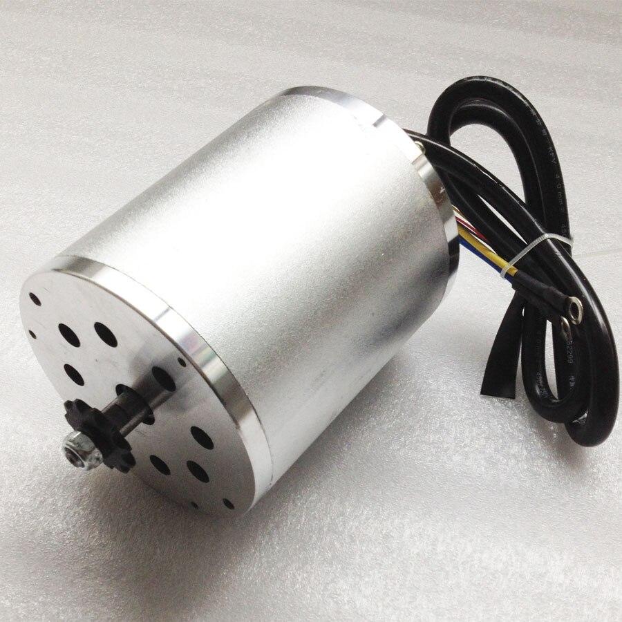 Super! 1500 w 48 v Électrique Sans Brosse Moteur À COURANT CONTINU pour Scooter Électrique Pliable Utilisant avec 5600 rpm Vitesse (Scooter Électrique pièces)