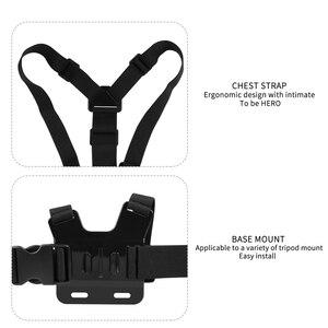 Image 3 - SHOOT нагрудный ремень для крепления на голову для GoPro Hero 9 8 7 5 Black Xiaomi Yi 4K Sjcam M10 Sj8 pro Eken H9 Dji Osmo аксессуары для действий