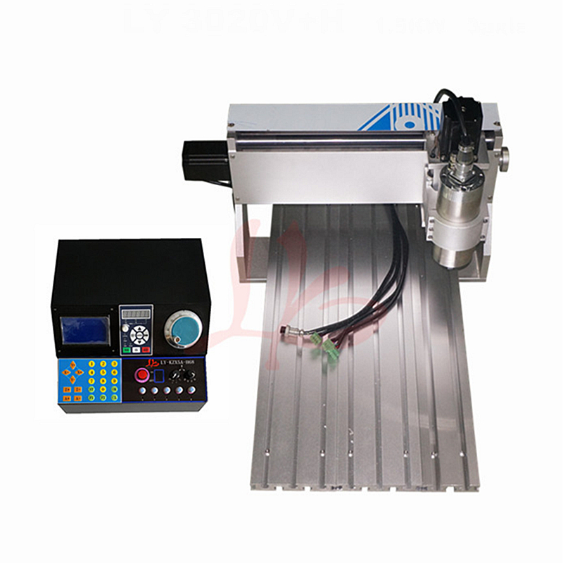 цены Mini Lathe CNC Router 3020 800W CNC Engraving Machine for Woodworking Metal Cutting