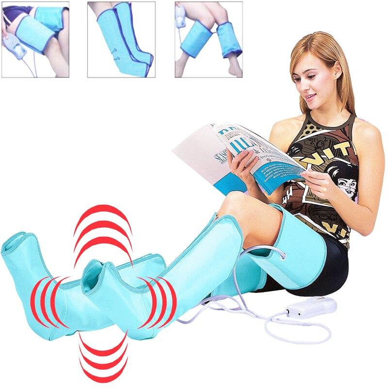 Циркуляционный обертывающий ногу Healthcare. Сжатие воздуха обертывающий ногу обычный массажер ножные лодыжки теленок терапия циркуляция поху...