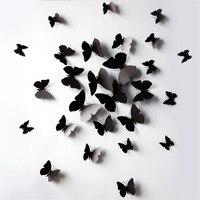 아드리안 3D 나비 벽 데칼 나비 벽 스티커 홈 장식 룸, 침실,