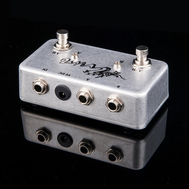ABY 손으로 만든 페달 기타 스위치 박스 / TRUE BYPASS! 앰프 / 기타 AB / Y