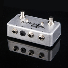 TTONE Hand made ABY pedal Guitar Switch Box /TRUE BYPASS! Amp / guitar AB/Y