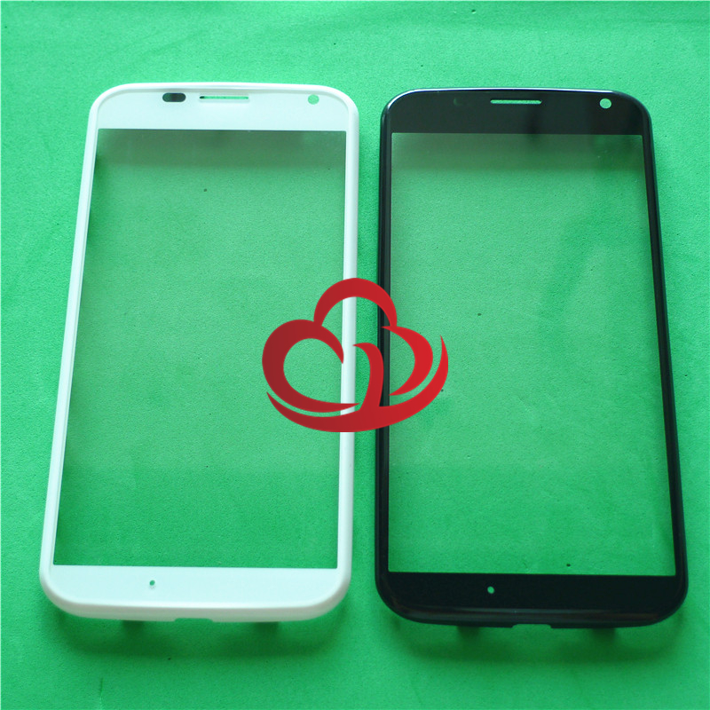 New Replacement LCD Front Touch Screen Glass Outer Lens +Frame For Motorola Moto X XT1060 1052 1053 1058 1056 1055 Touch Screen