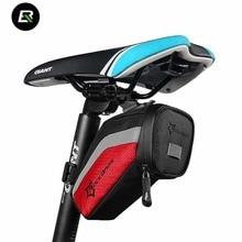 Rockbros Bike Bag Waterproof Bicycle Saddle Bag Rack Tools Pannier Cycling Rear Seat Tail Bag Bicycle