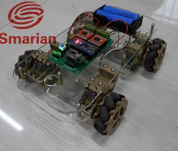 อย่างเป็นทางการ smarian omni ล้อรถอัจฉริยะแพลตฟอร์มจาก DIY Crawler Tracked รุ่นหุ่นยนต์ฐาน - SALE ITEM ของเล่นและงานอดิเรก