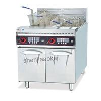 DF 26 2A Verticais comercial Fritadeira Elétrica fritadeira fritadeira Duplo haste Elétrica 220 V/3N 380V 1 pc|Processadores de alimentos| |  -