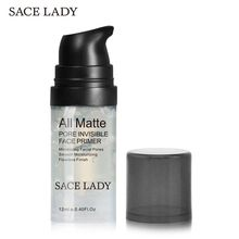 SACE LADY Face make up Primer Hydra Touch Primer Liquid Natural Matte Pores Invisible Facial Oil control Cream Foundation Primer holika holika naked face balancing primer 35g face primer natural matte make up foundation pores oil control