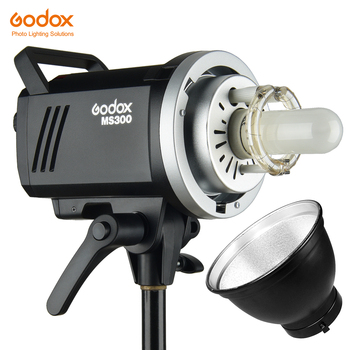 Godox MS200 200W or MS300 300W 2.4G Built-in Wireless Receiver Lightweight Compact and Durable Bowens Mount Studio Flash image