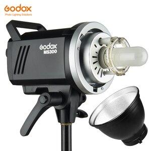 Image 1 - Godox MS200 200W veya MS300 300W 2.4G dahili kablosuz alıcı hafif kompakt ve dayanıklı Bowens dağı stüdyo flash