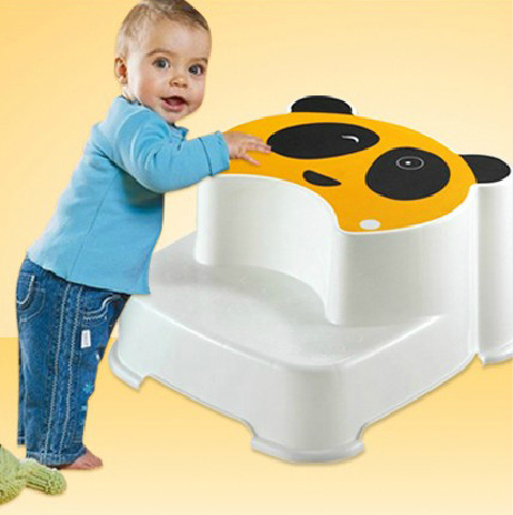 Stupendous Babyhood Child Bath Tub Side Panda Step Stool For Toddler Theyellowbook Wood Chair Design Ideas Theyellowbookinfo
