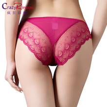 Women Sexy Lace Panties , Women's Low Waist Cotton Briefs Underwear