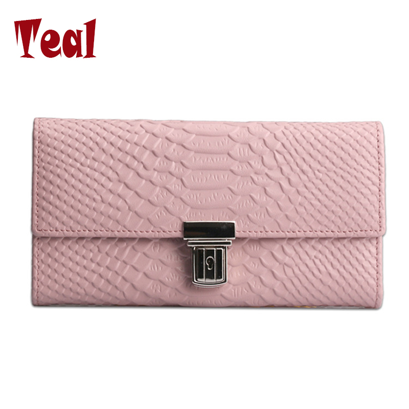 women wallet Genuine Leather high quality For Girl purse female  Zipper wallet Famous Brands long wallets fashion large capacity цена