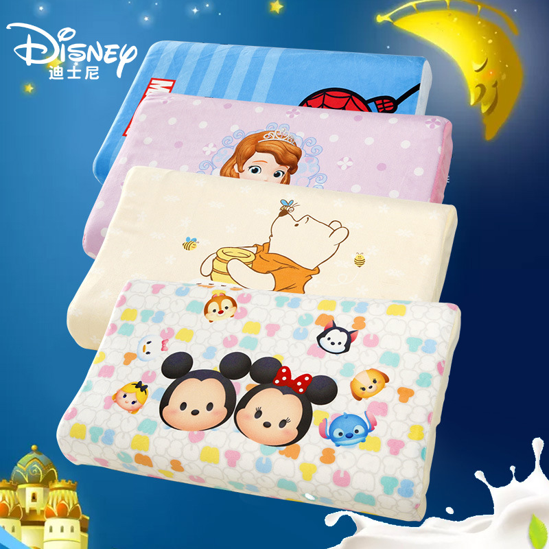 Hot Disney 1-6 ans bébé coton oreiller cou Protection oreiller doux respirant Latex oreiller d'allaitement pour les nouveau-nés cadeau enfant