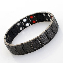 цены Bio Energy Ceramic Bracelet Bangle Hematite Health Chain Charms for men Jewelry Black bracelet