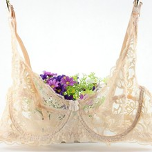 Hollow Sexy Lace  Bra Women Underwear Push Up Untra-thin Comfortable Breathable Brassiere Plus Size Lingerie Bh