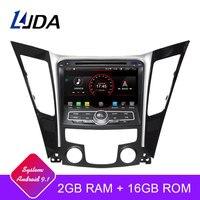 LJDA Android 9,1 Автомобильный dvd плеер для HYUNDAI SONATA 2012 2013 2014 2Din автомобильное радио gps навигация Радио стерео wi fi мультимедиа autoaudio